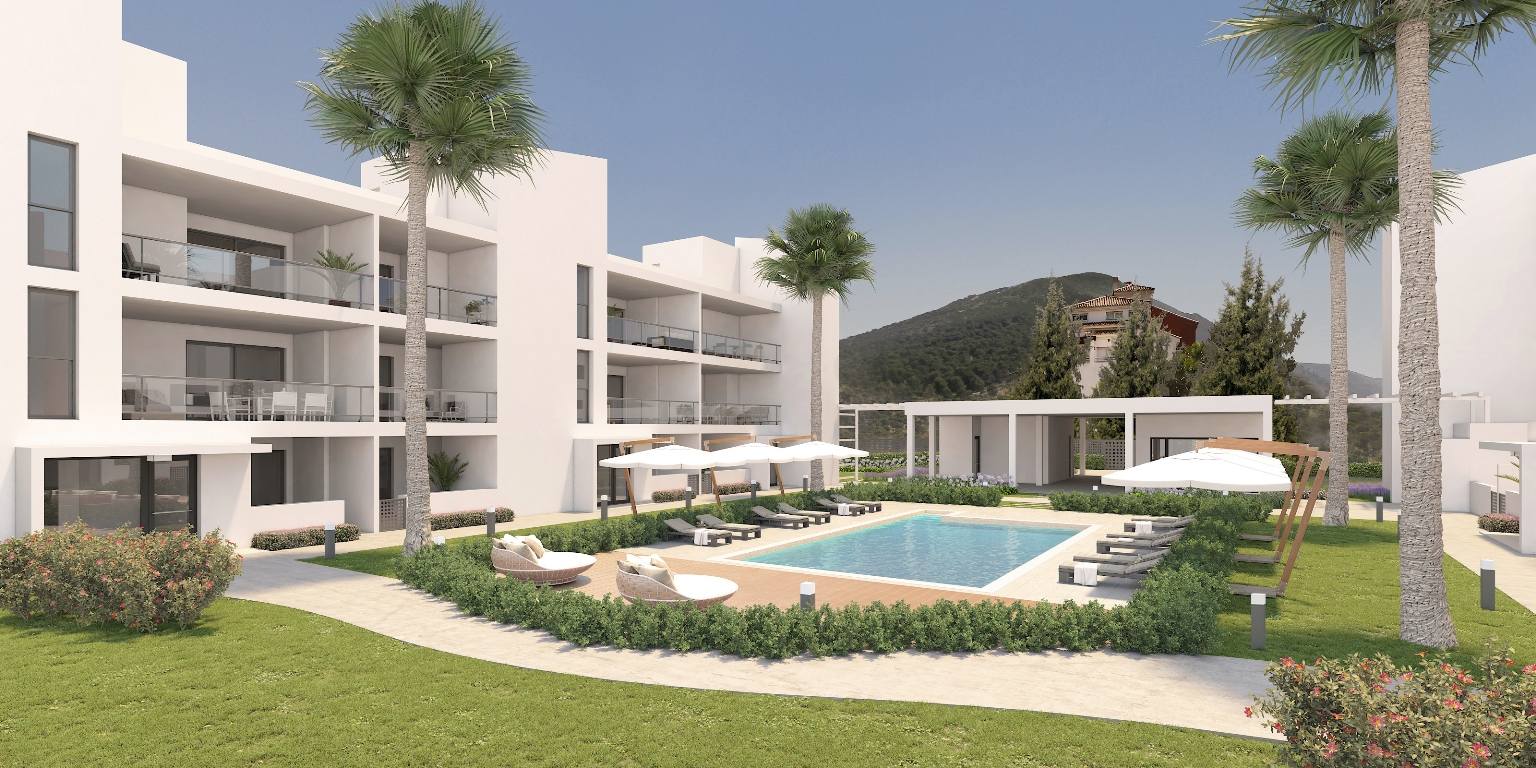 Alhaurin Vista Gol - new construction apartments - Costa del Sol - impression
