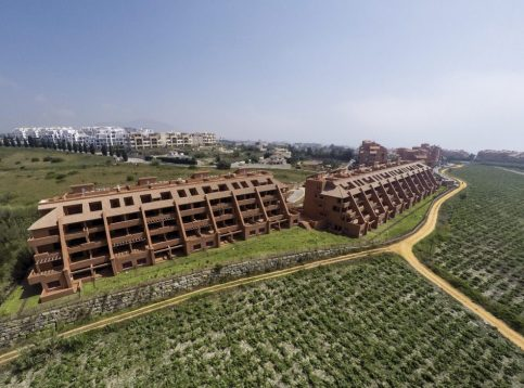 New construction Manilva - apartments Viñedos del Mar - full-flight view